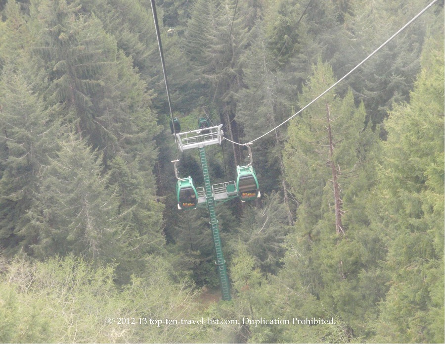 Trees of Mystery gondola ride - Klamath, CA