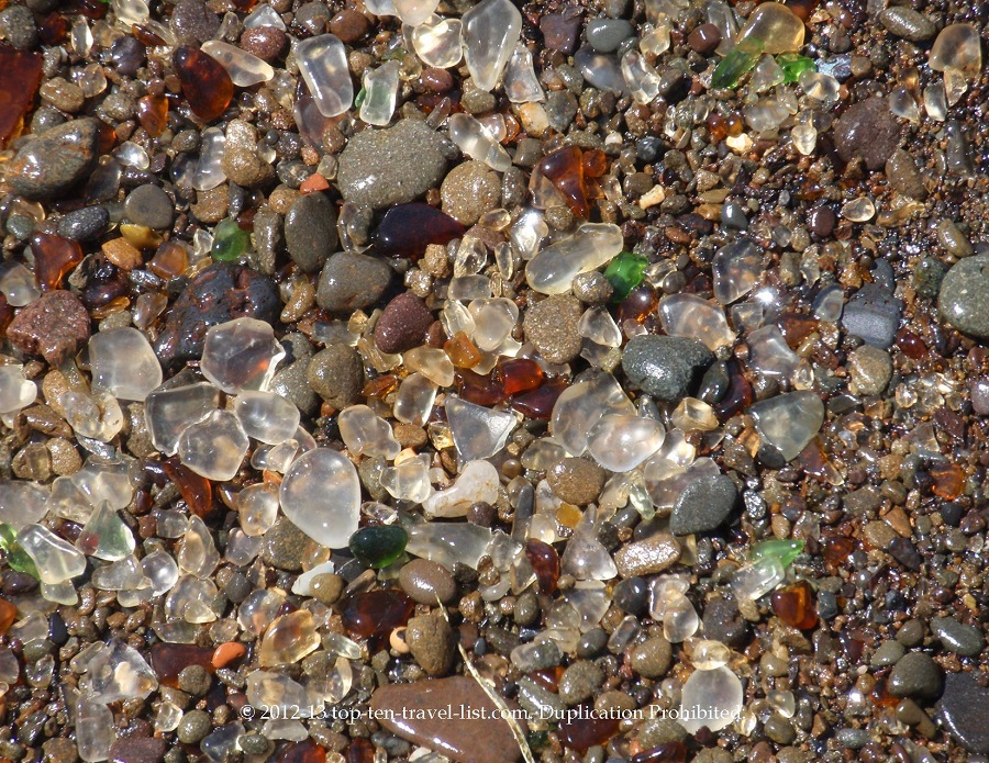 Seaglass Beach - Ft. Bragg, CA
