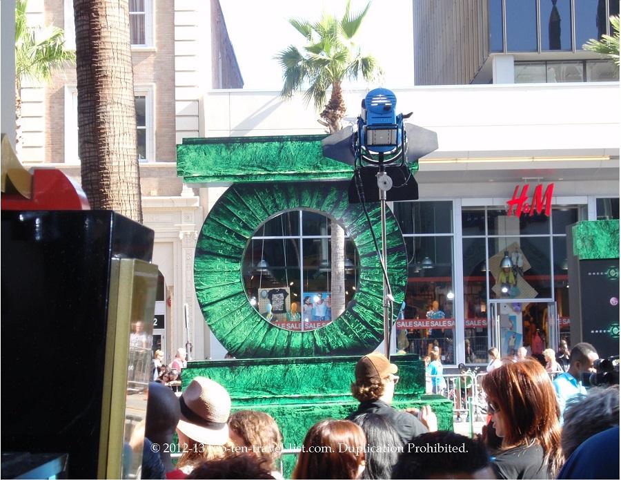Green Lantern premiere - Hollywood, CA