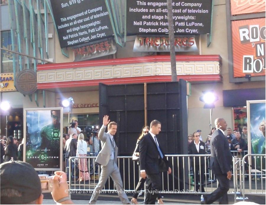 Ryan Reynolds at the Green Lantern premiere