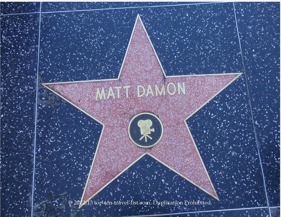 matt damon star blog