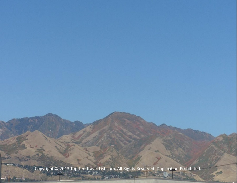 Salt Lake City, Utah mountains