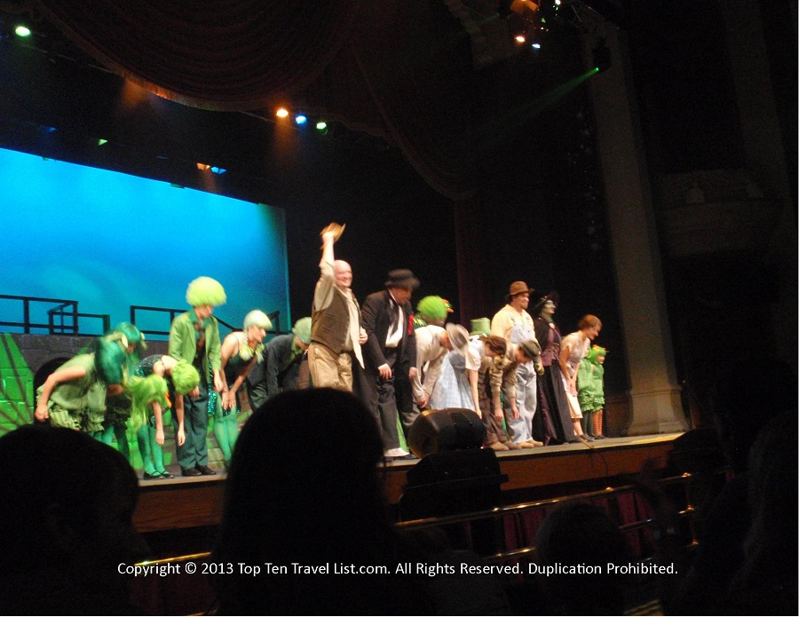 Wizard of Oz cast at Salt Lake City Community College's The Grand Theater in Utah