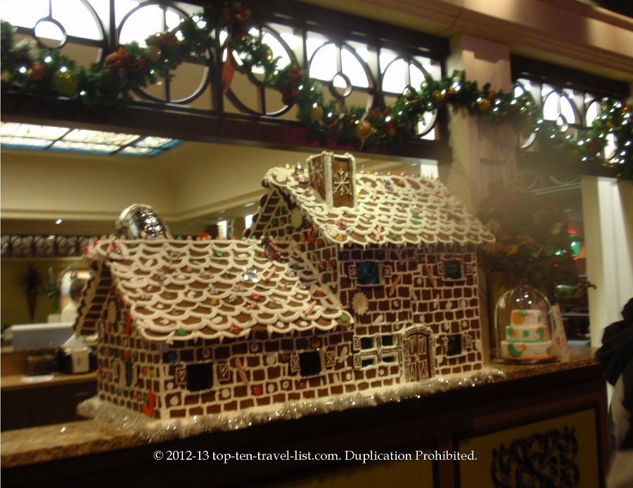 Huge gingerbread house in the Grand Sierra