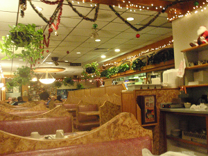 Inside Oak Lawn Family Resturant - IL