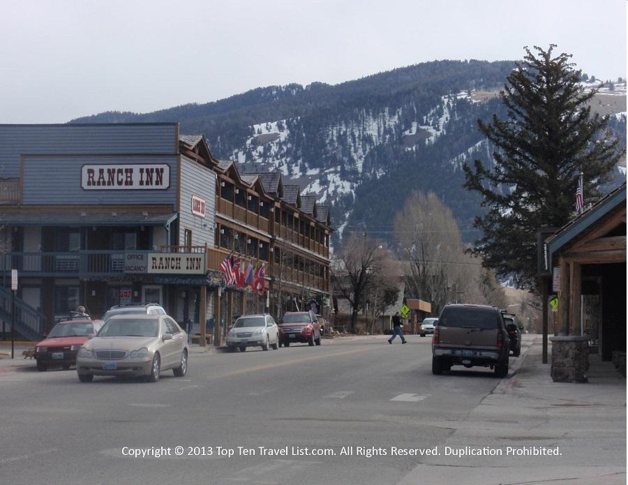 Jackson Town Square - Jackson Hole, Wyoming