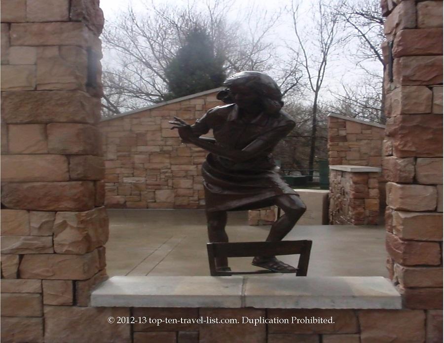 Anne Frank Memorial along the Boise Greenbelt