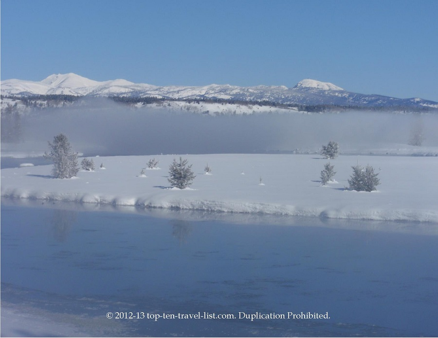 Harriman State Park in Island Park, Idaho - cross country skiing