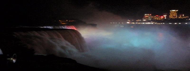 Niagara Falls Illumination Show