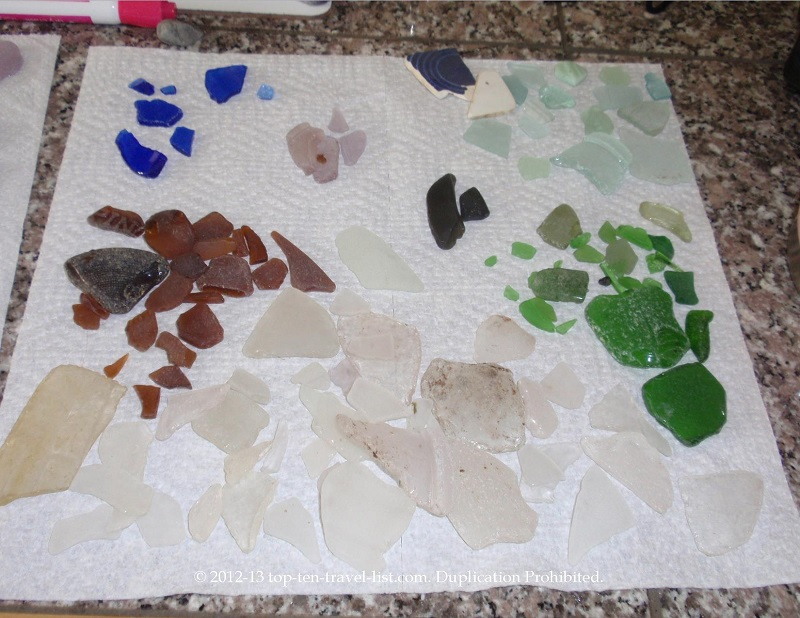 Seaglass found in Islesboro