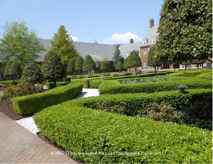 English Gardens at Founders Inn and Spa - Virginia Beach, VA