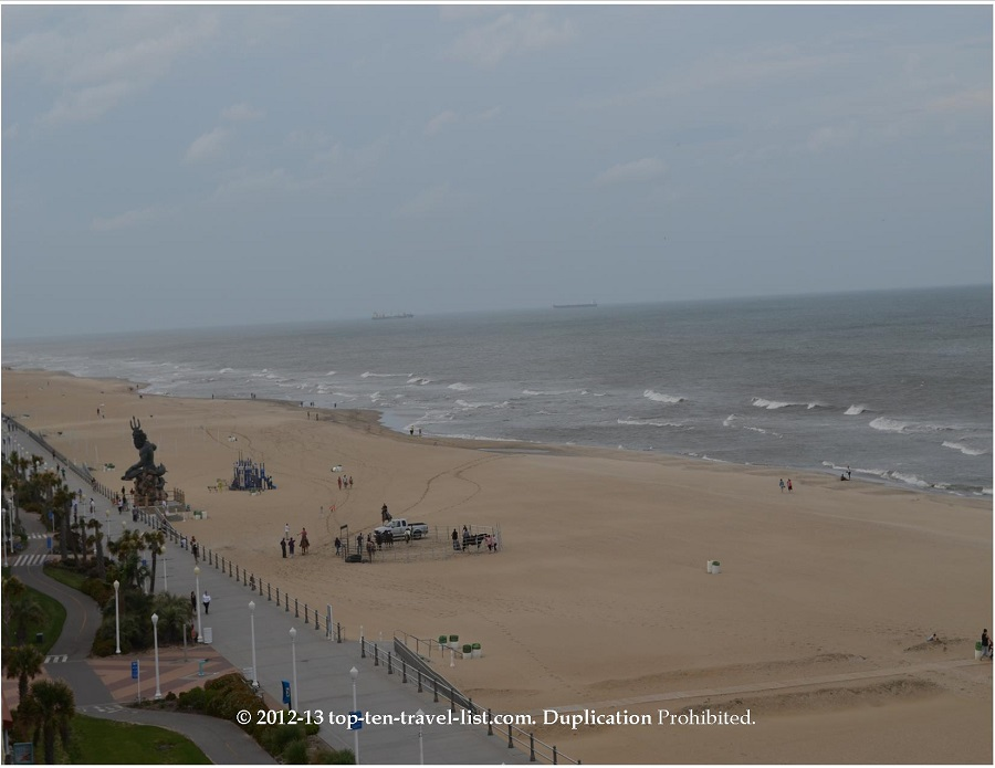 A Picturesque Cruise along the Virginia Beach Boardwalk - Top Ten