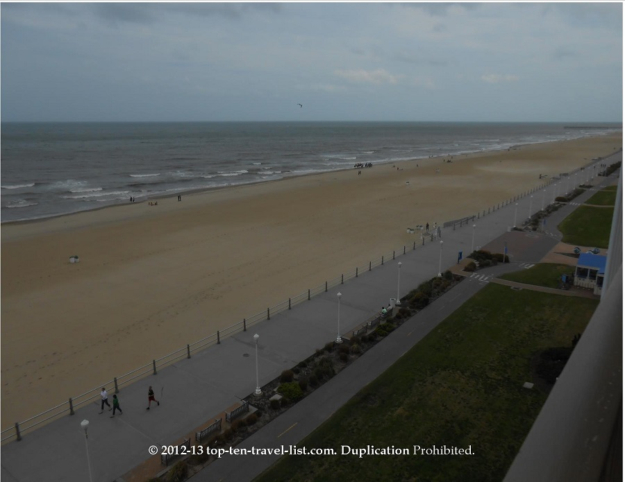 Virginia Beach boardwalk - full view