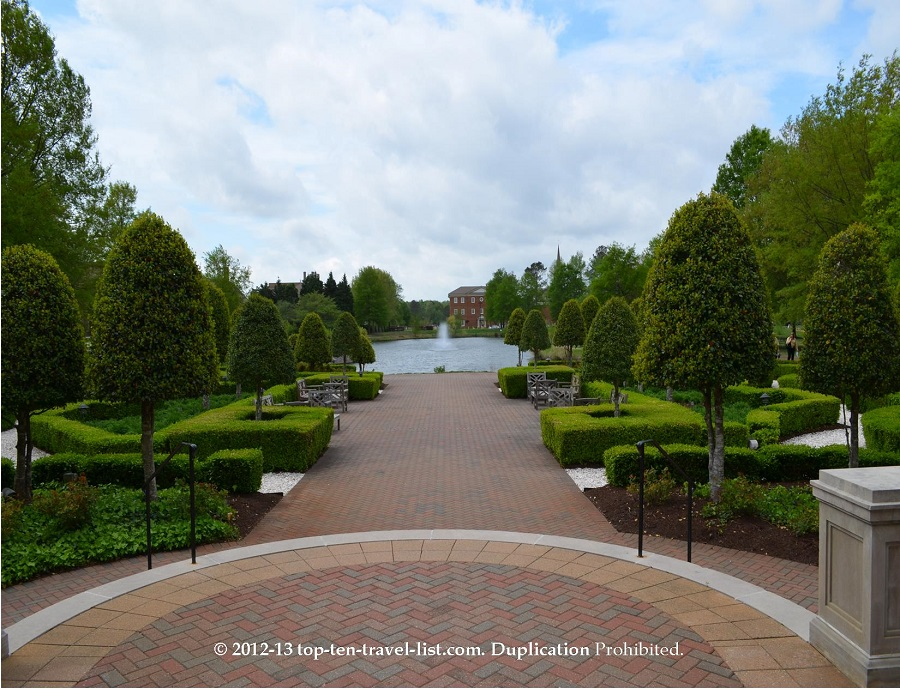 Founders Inn and Spa grounds - Virginia Beach, VA