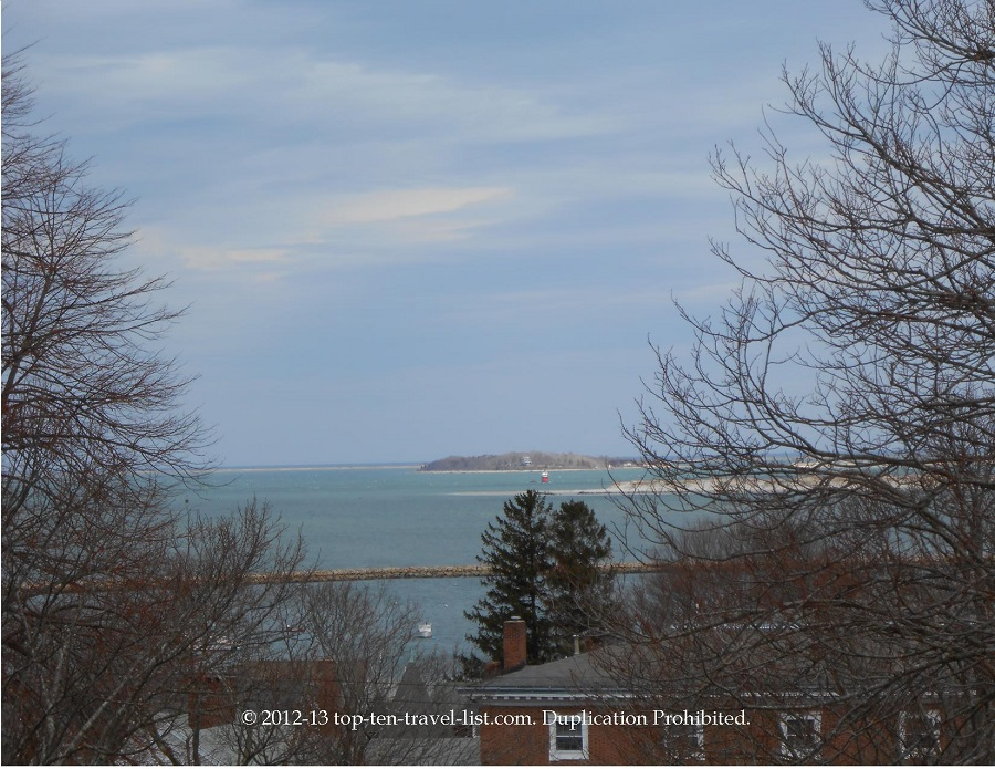 Ocean view from burial hill