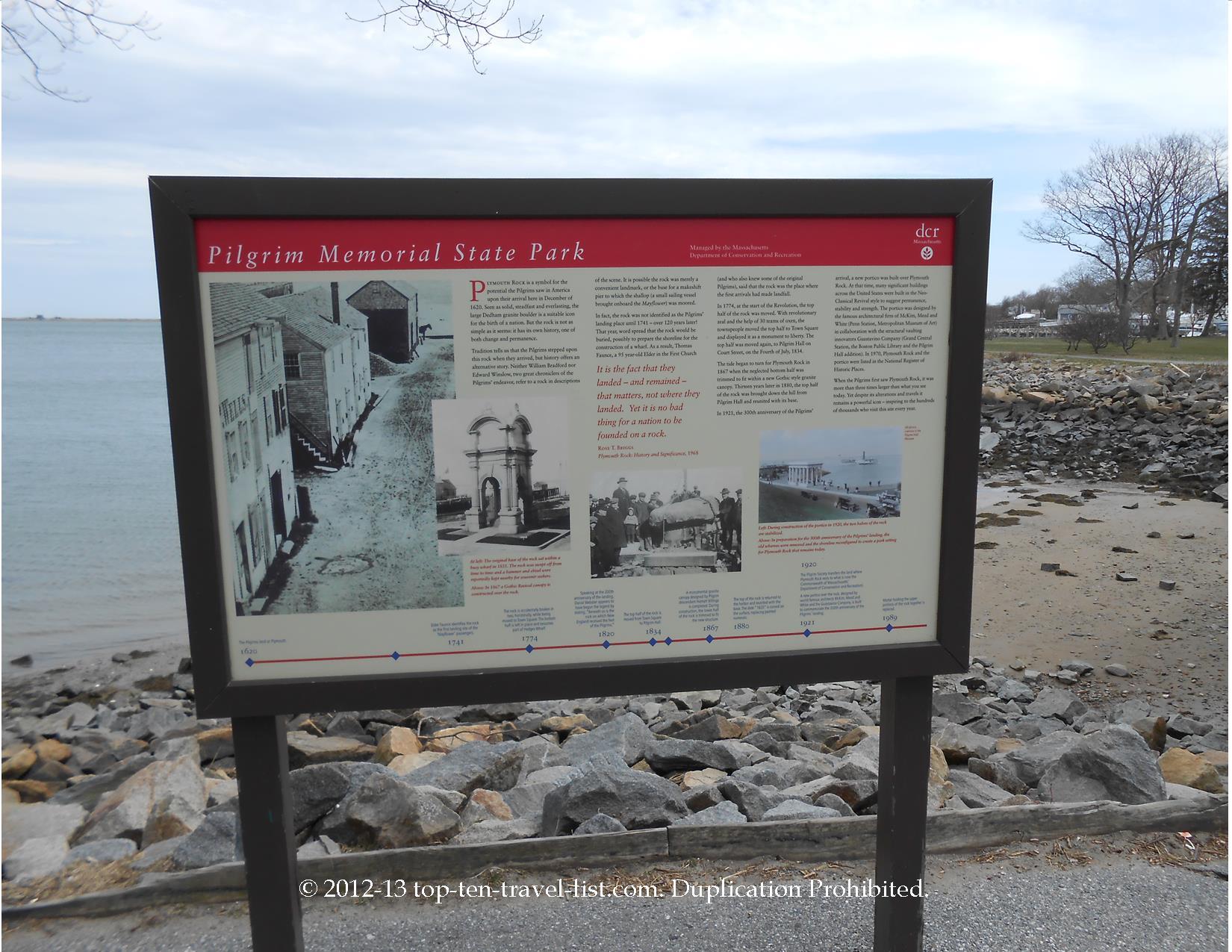 Pilgrim Memorial State Park - Plymouth