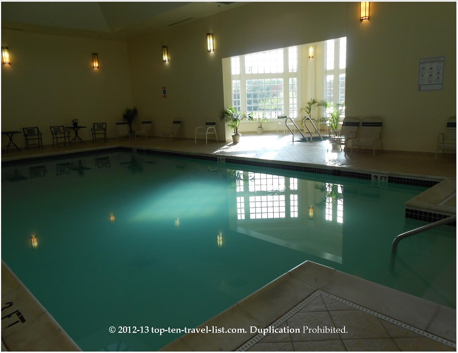 Founders Inn and Spa pool area - Virginia Beach, VA