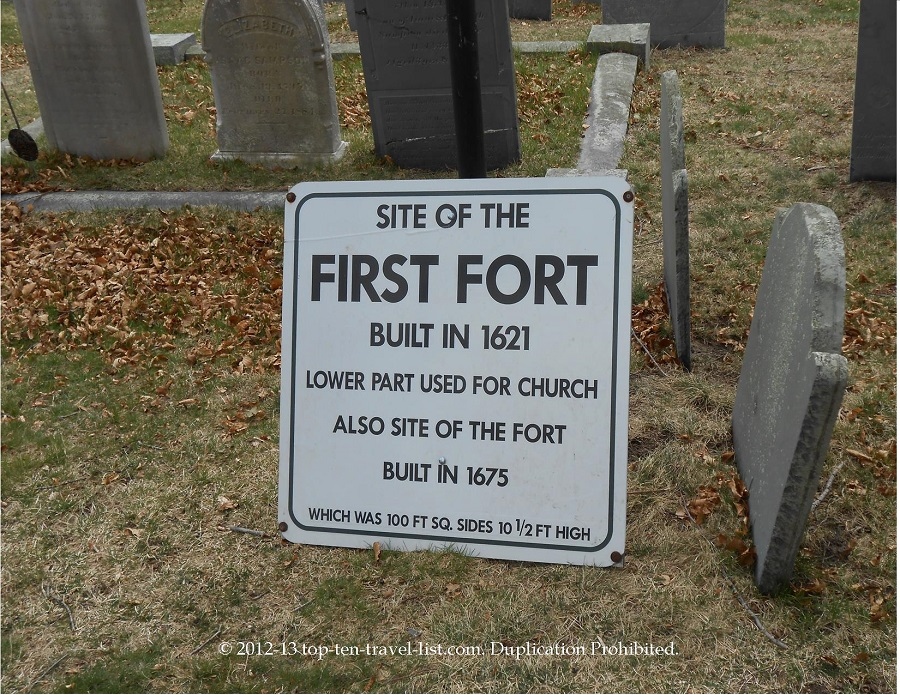 Site of the 1st fort