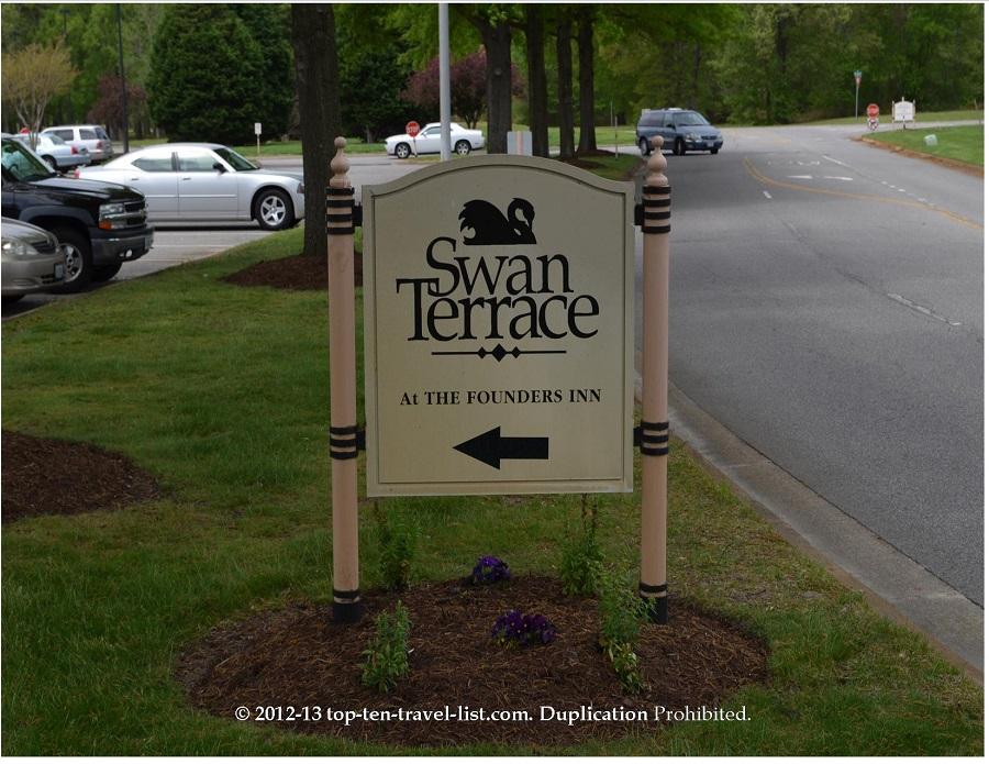 Swan Terrace - Founders Inn and Spa - Virginia Beach