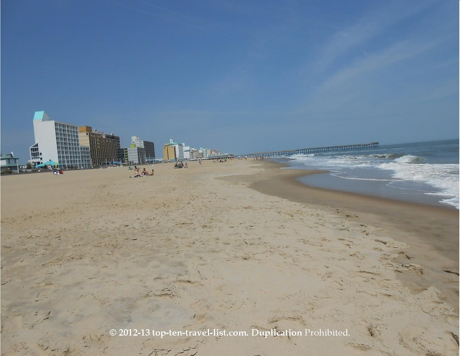 Virginia Beach Hotel and Water views