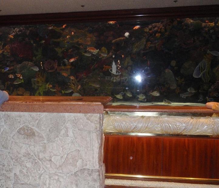Mirage fish tank