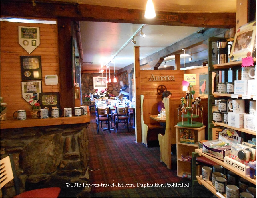 Persy's - Middleboro, MA - love the log cabin look!
