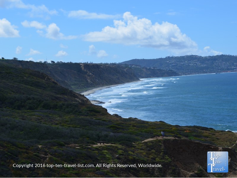 The gorgeous Torrey Pines State Nature Reserve in San Diego
