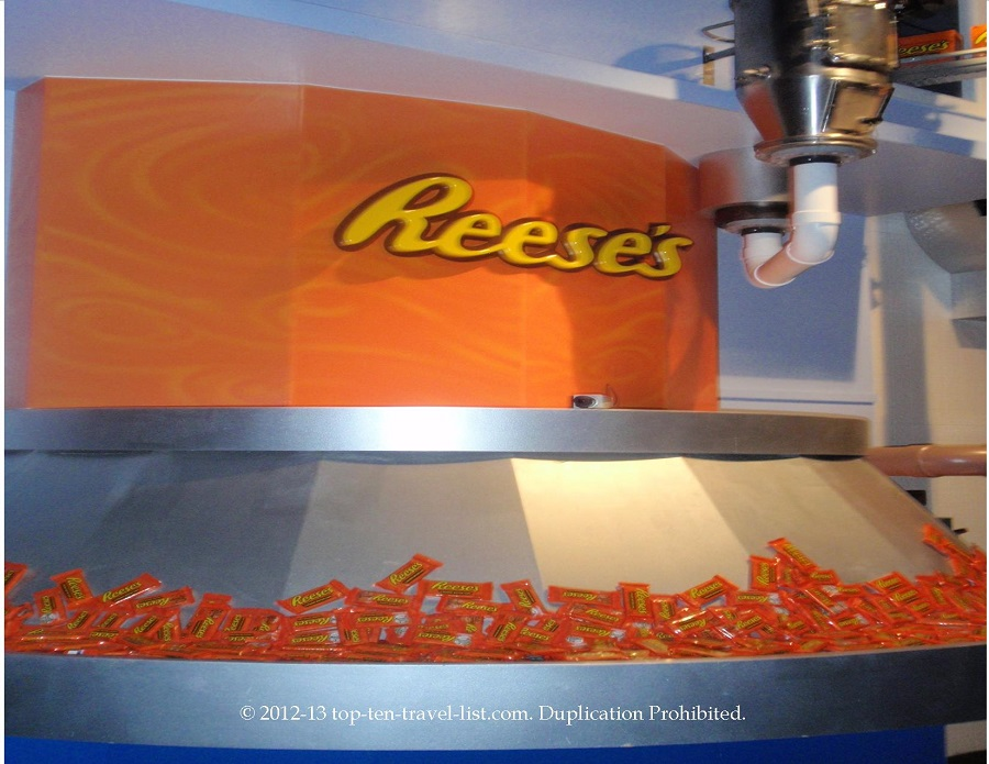 Reese's Pieces display
