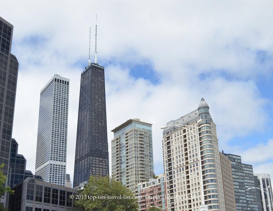 John Hancock Building in Chicago, IL