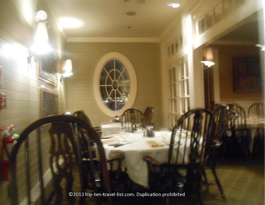 Dining room of Stoneforge, Massachusetts
