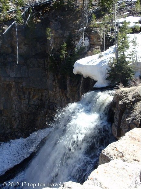 Waterfall at Yellowstone