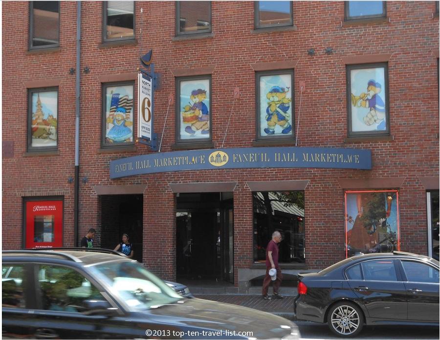 Faneuil Hall Marketplace - Boston, Massachusetts