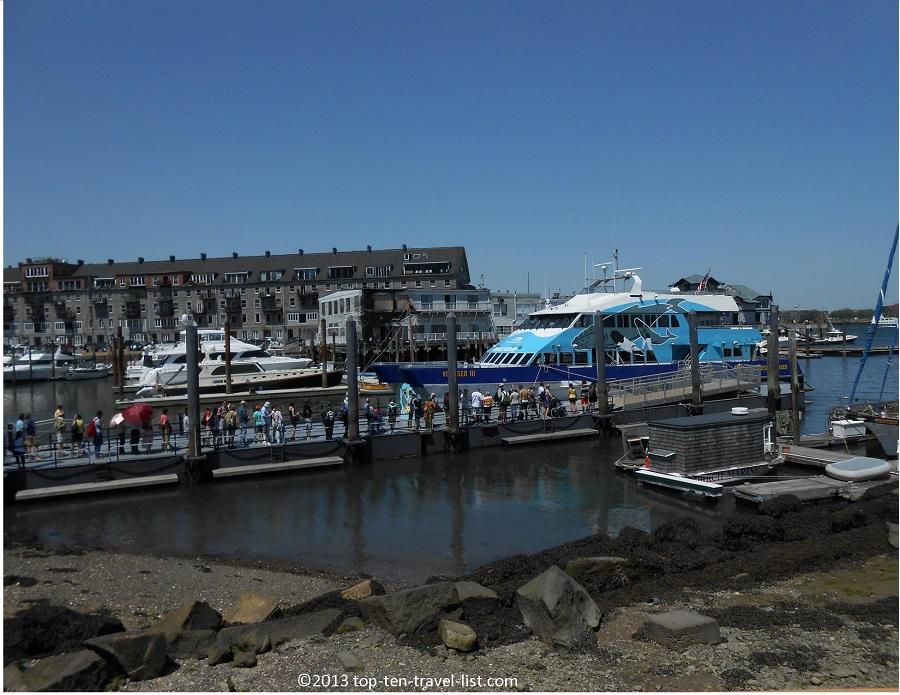 Whale watching boat - Long Wharf - Boston, MA