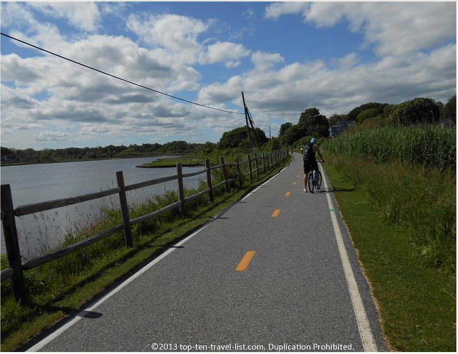East Bay Bike Path views - Rhode Island
