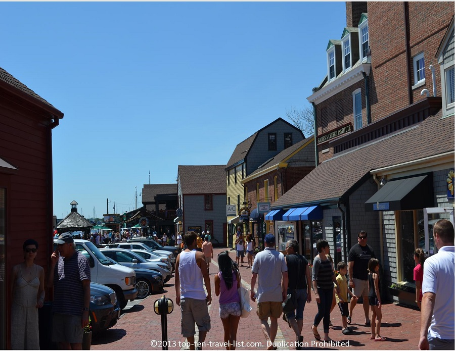 Bowen's Wharf - Newport, Rhode Island