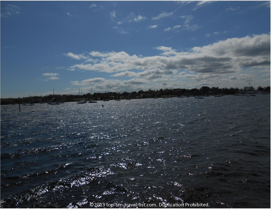 Bristol, Rhode Island Harbor views