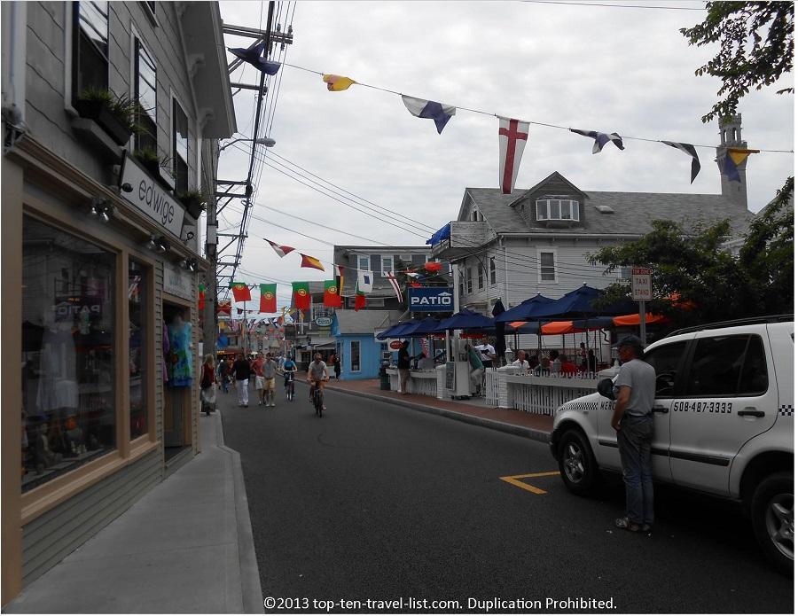 Commercial St. Provincetown, Massachusetts