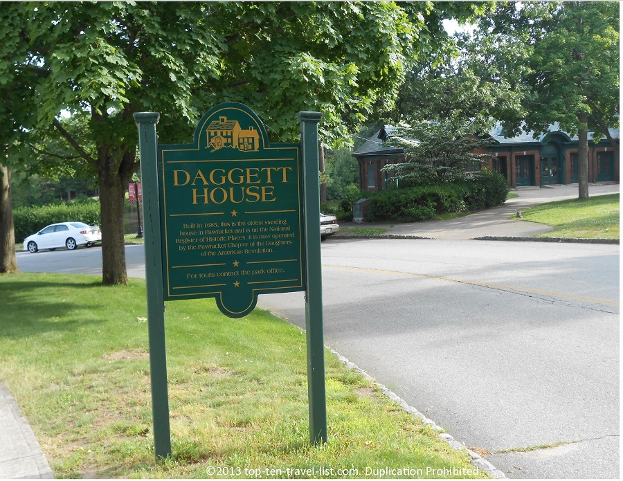 Daggett House - Pawtucket, RI - Slater Memorial Park