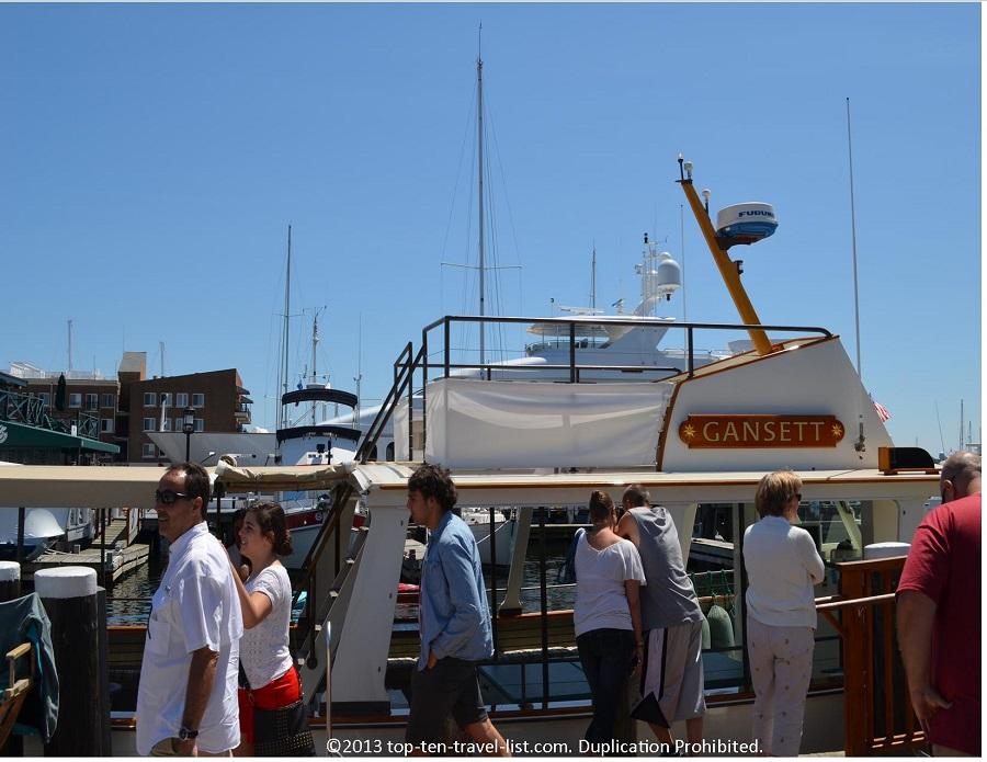 Gansett Cruises - Newport, Rhode Island