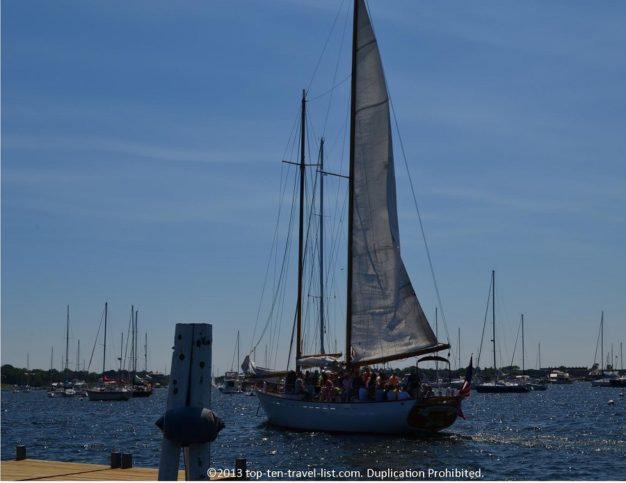 Sailboat - Newport, Rhode Island