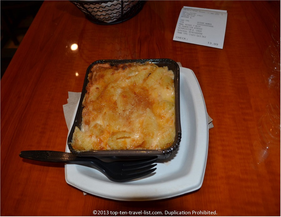 Purple Feather - Provincetown, MA - Baked Mac & Cheese