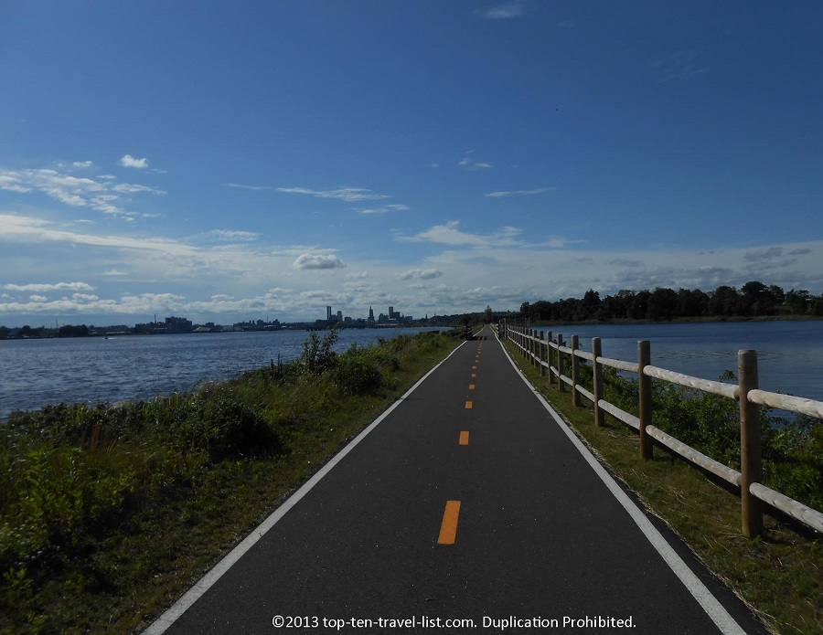 East Bay Bike Path water views - Rhode Island