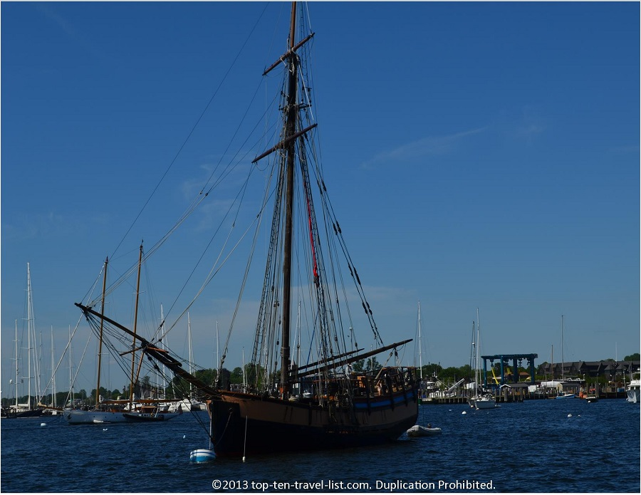 Ship used in Pirates of the Carribean - Newport, Rhode Island