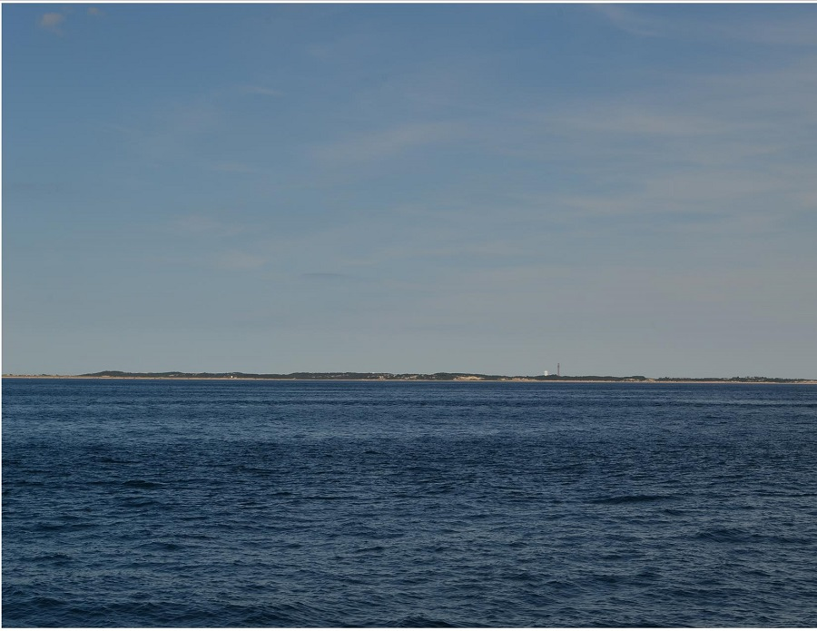 Provincetown, Cape Cod - seen from a whale watching cruise