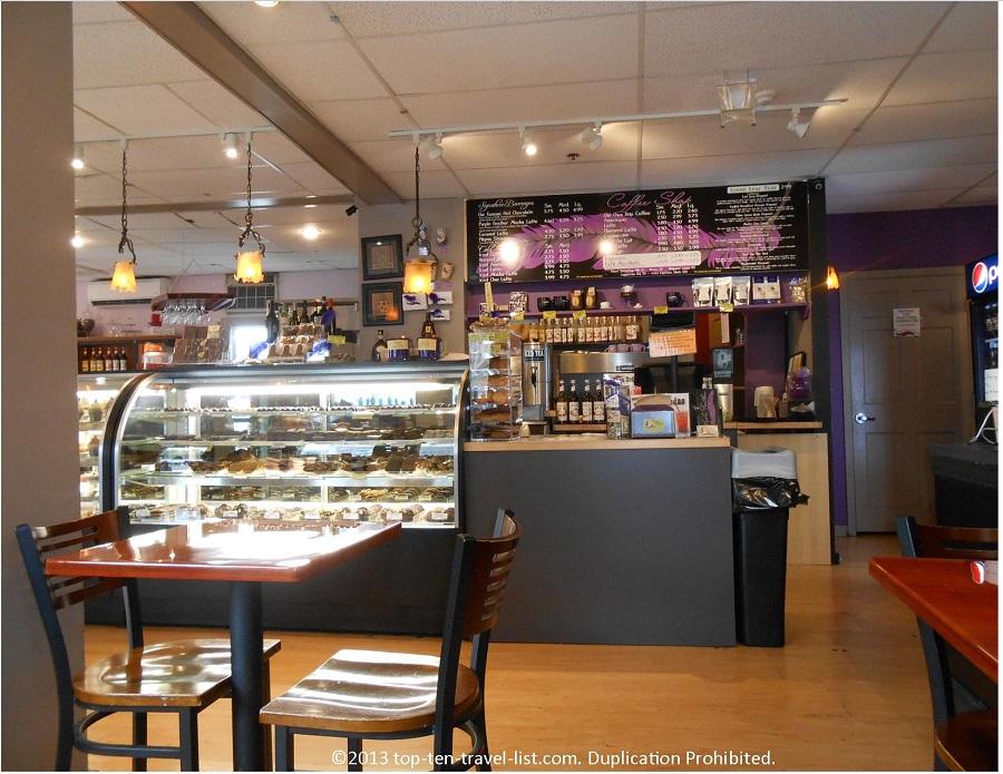 Purple Feather - Provincetown, MA - Dessert counter