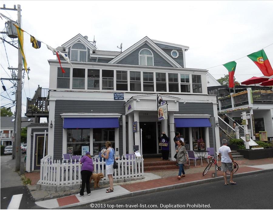 Purple Feather - Provincetown, Massachusetts