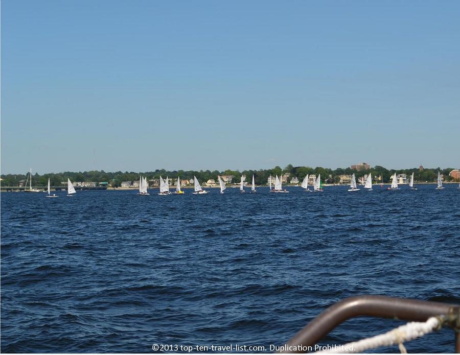 Sailboats - Newport, Rhode Island