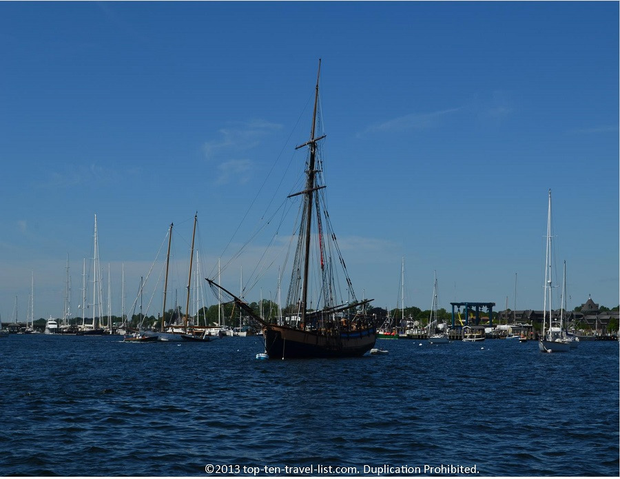 Pirates of the Carribean II boat - Newport, Rhode Island