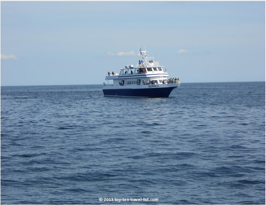 Cape Cod Whale Watching boat
