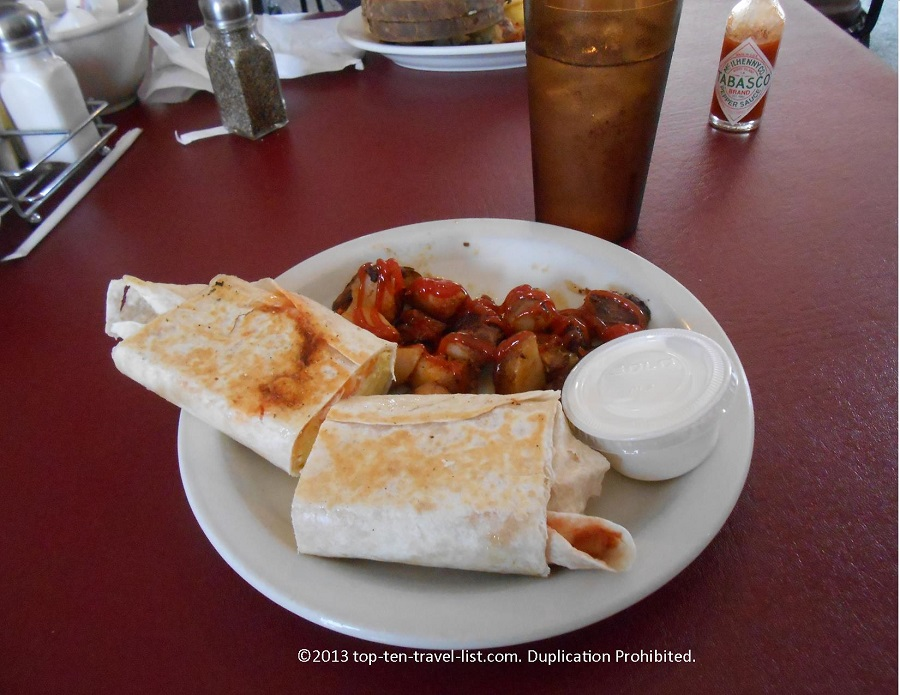 Flat Iron Cafe - Middleboro, MA - Breakfast Burrito